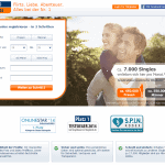 Singlebörse FriendScout24 (Screenshot vom Februar 2015)