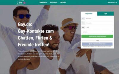 Gay.de: Gay-Kontakte zum Chatten, Flirten & Freunde treffen