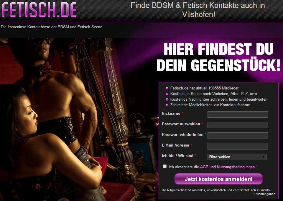 datingvergleich fetisch de bdsm kontakte screenshot 2014 Fetisch.de