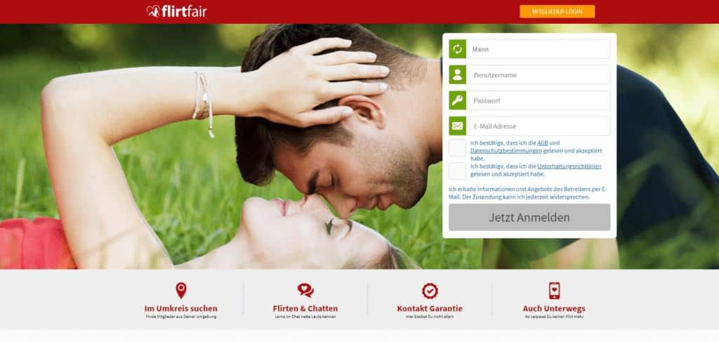 FlirtFair.de – Vielseitige Casual-Dating-Community