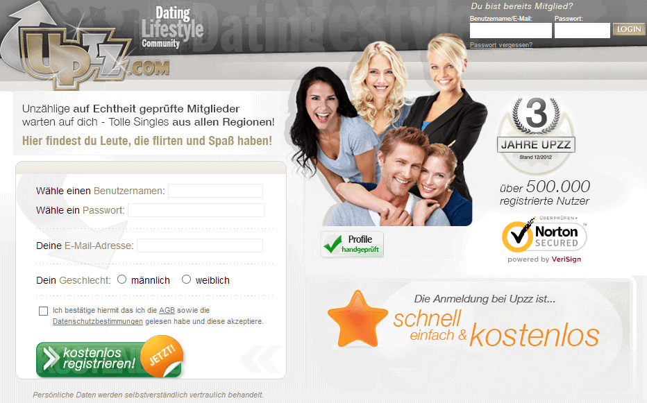 Upzz - Lifestyle- und- Dating-Community