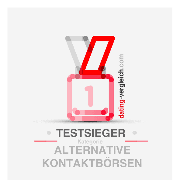 Testsieger in der Kategorie Alternative Kontaktbörsen