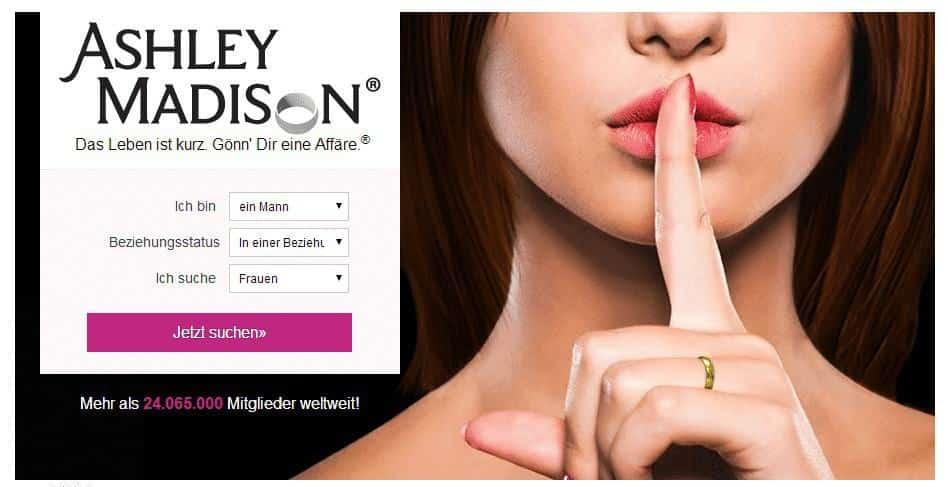 Ashley Madison – 100% diskrete Abenteuer (?)