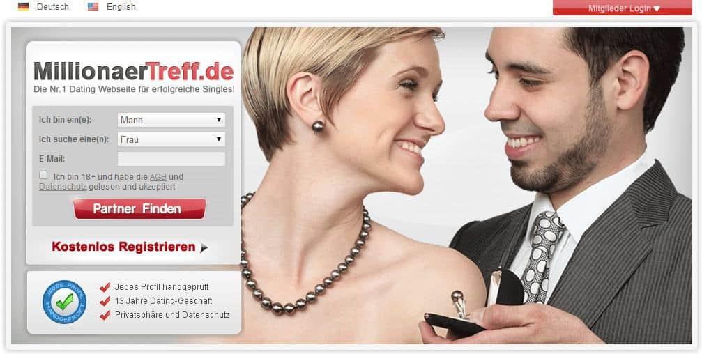 Millionärtreff.de – Onlineplattform für wohlhabende Singles