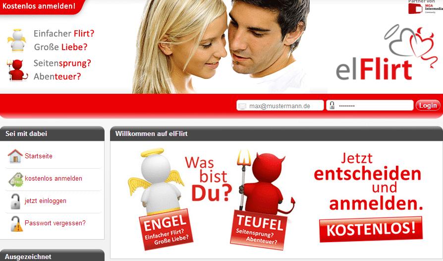 elFlirt - Kostenloses Kontaktportal