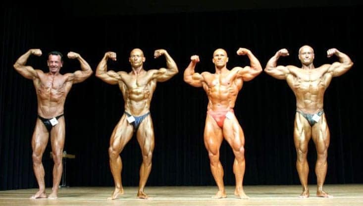 Bodybuilding Mr. Universe Competition