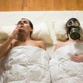 Rauchen kann die Beziehung belasten