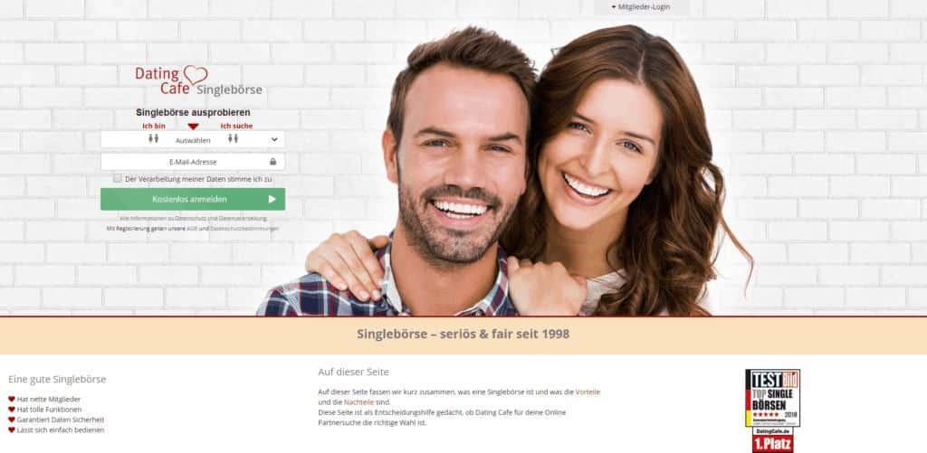 Online dating kostenlos vergleich