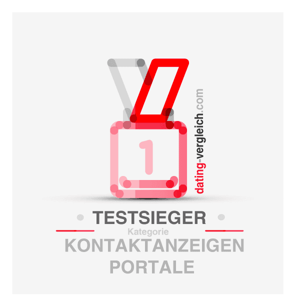 Testsieger in der Kategorie Kontaktanzeigen Portale
