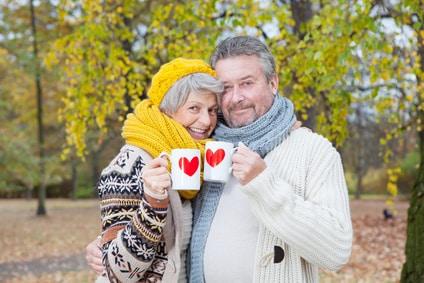 Partnerglück kennt kein Alter