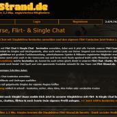 Flirt-Strand.de - Flirt- & Single Chat mit über 2,3 Mio. registrierten Mitgliedern