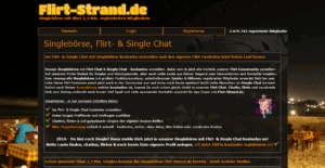 Flirt-Strand.de - Singlebörse, Flirt- & Single Chat