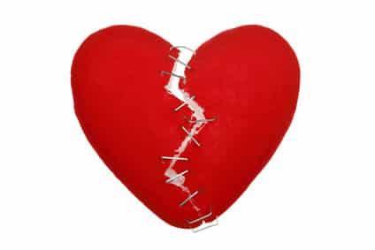 Gebrochene Herzen lassen sich flicken