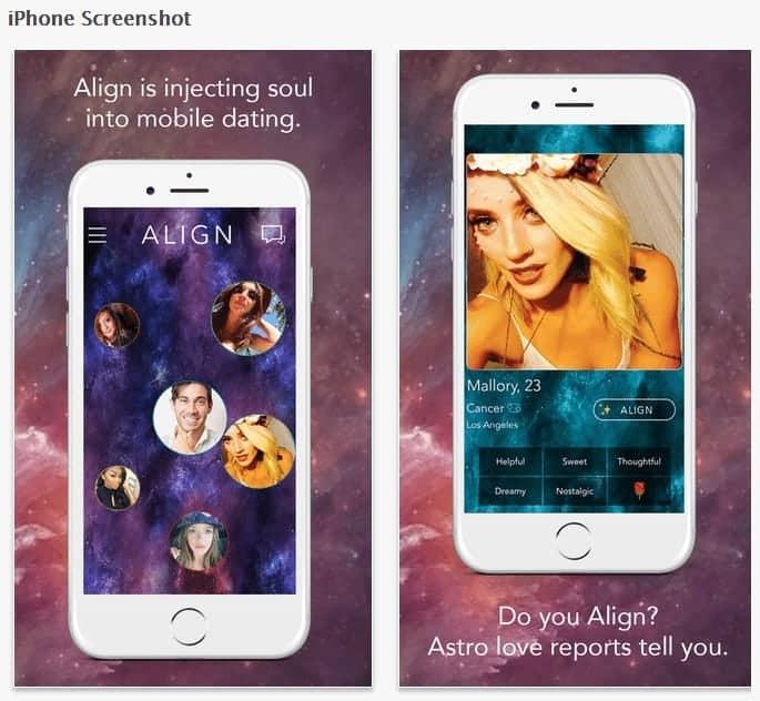 Align – Astrologisches Dating per Handy App