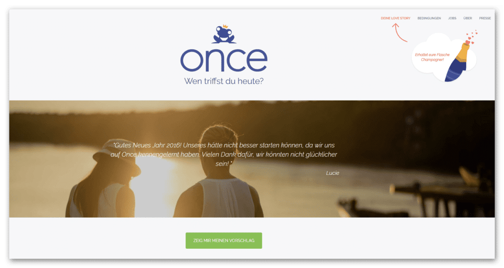 Once (Screenshot)