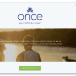 Once – Ein Match pro Tag
