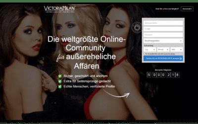 Victoria Milan - Weltgrößte Online-Community für außereheliche Affären