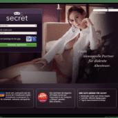 Secret.de - Casual Dating Kontaktportal für Seitensprünge und diskrete Affären