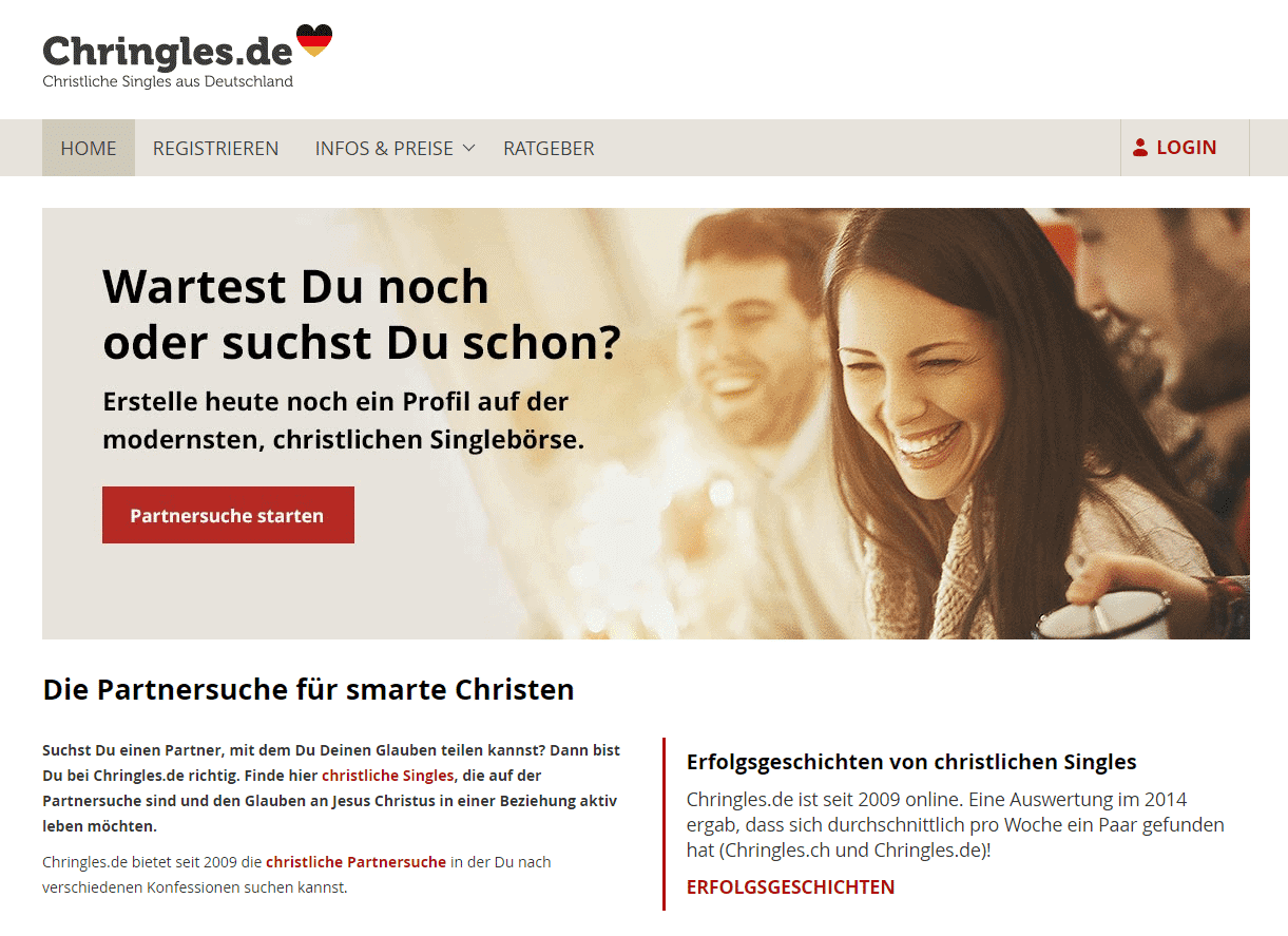 Christliche dating für singles 50+