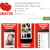 Dating Apps - Flirten und Partnersuche on the Go