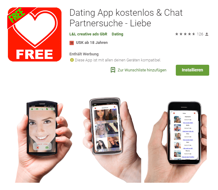 Niveauvolle dating app