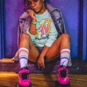 80s Rollergirl