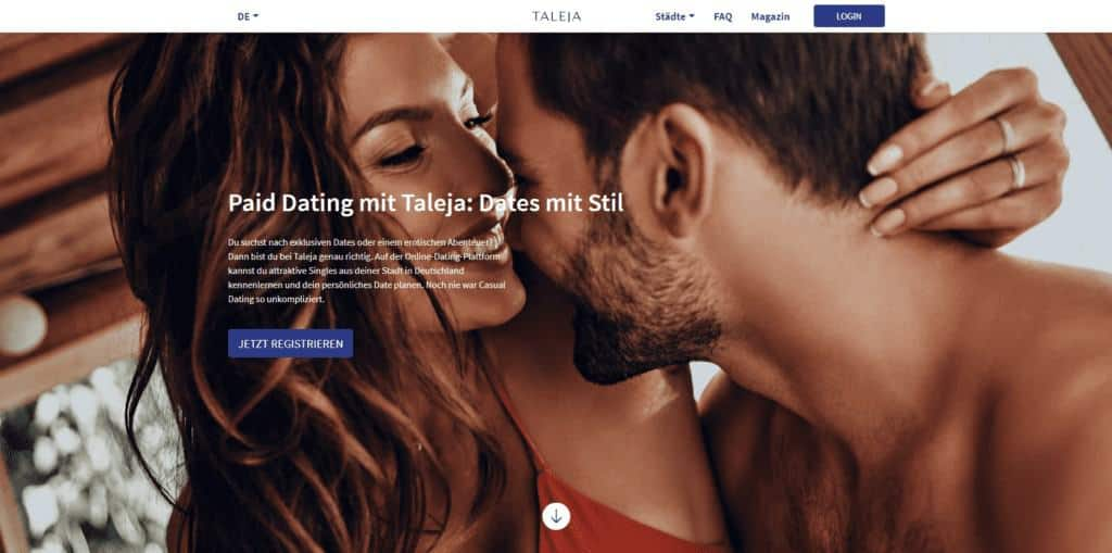 Taleja: Der neue Stern am Paid-Dating-Himmel