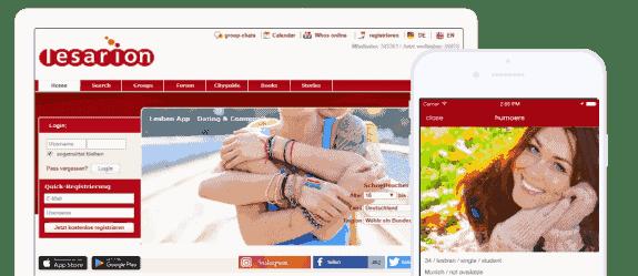 LESARION ist eine Online Community für queere Frauen (Lesben)