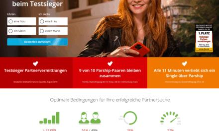 Parship.de – Seriöse Partnervermittlung für niveauvolle Singles