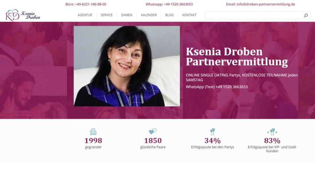 Ksenia Droben - Partnervermittlung für Russische und Ukrainische Frauen