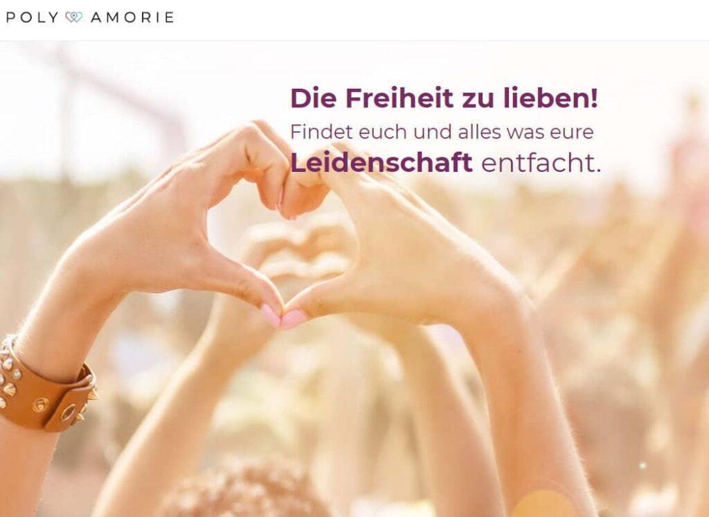Poly-Amorie.de - Online Dating Portal