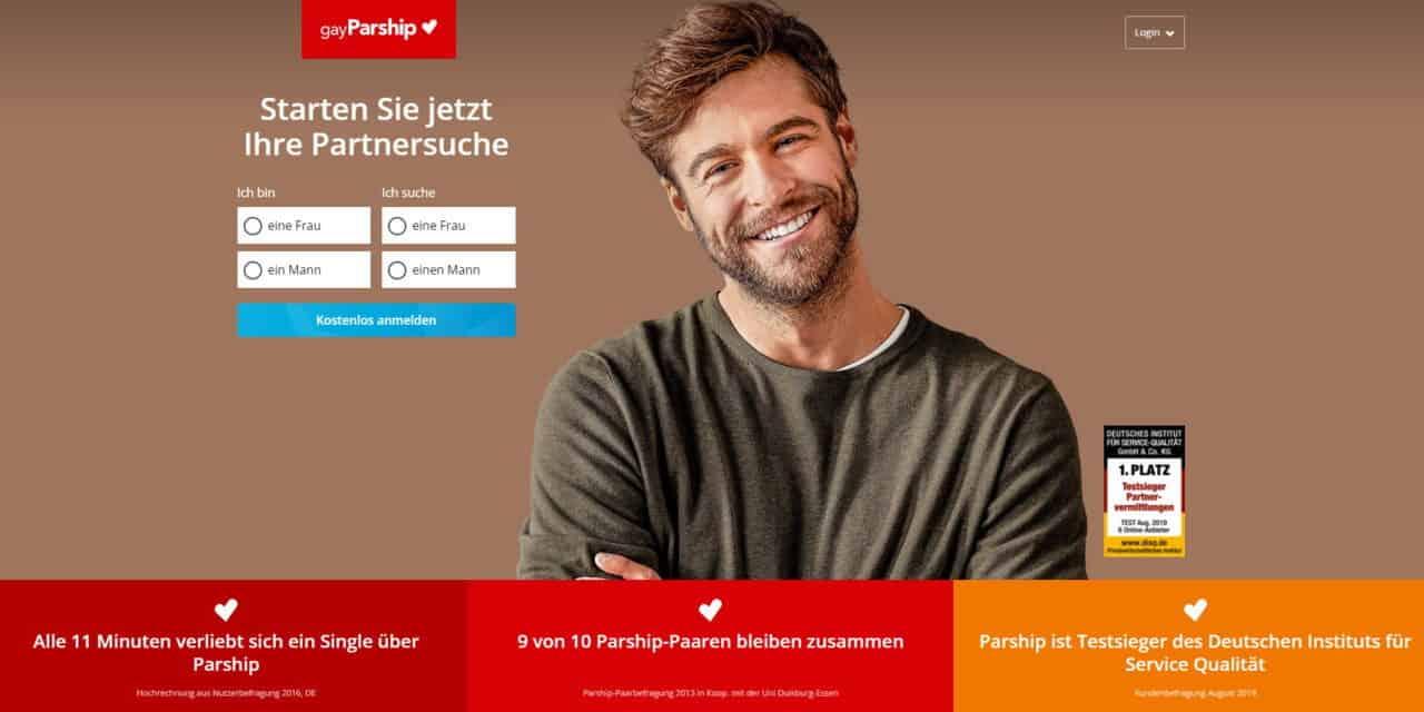 gayParship – Partnerbörse für Schwule und Lesben mit Niveau