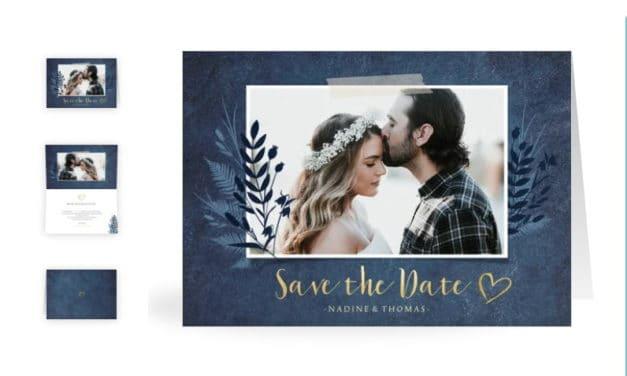 Save the Date Hochzeitskarten – So schüren Sie Vorfreude auf Ihren großen Tag