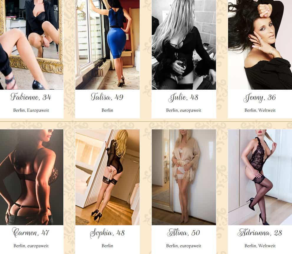 Die Ladies von Elite Escorts verführen Sie mit großer Begeisterung und Leidenschaft